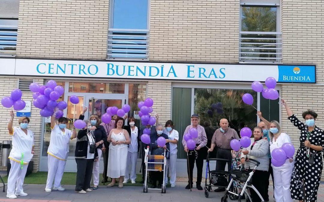 Conmemoración del Día Mundial del Alzheimer en Centros Buendía Eras y La Sal